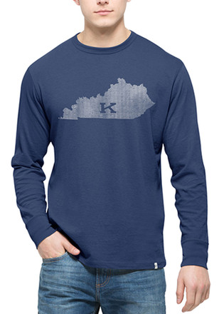 '47 Kentucky Mens Blue State Fashion Tee
