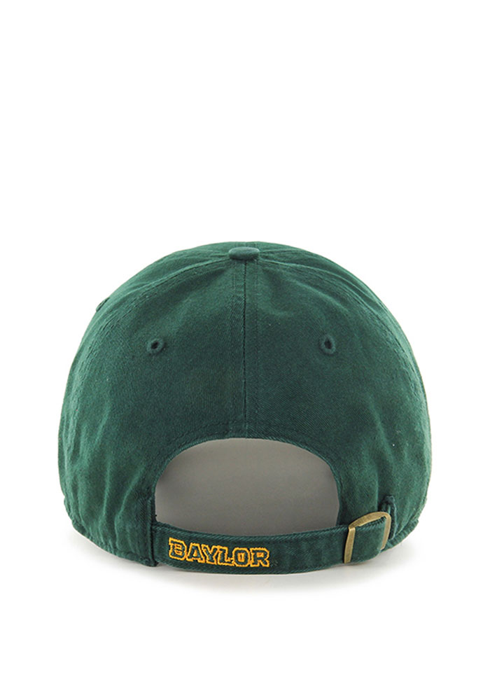 '47 Baylor Bears Mens Green Cleanup Adjustable Hat - Image 2
