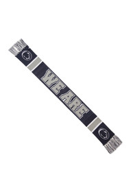 47 Penn State Nittany Lions Rally Loud Slogan Scarf
