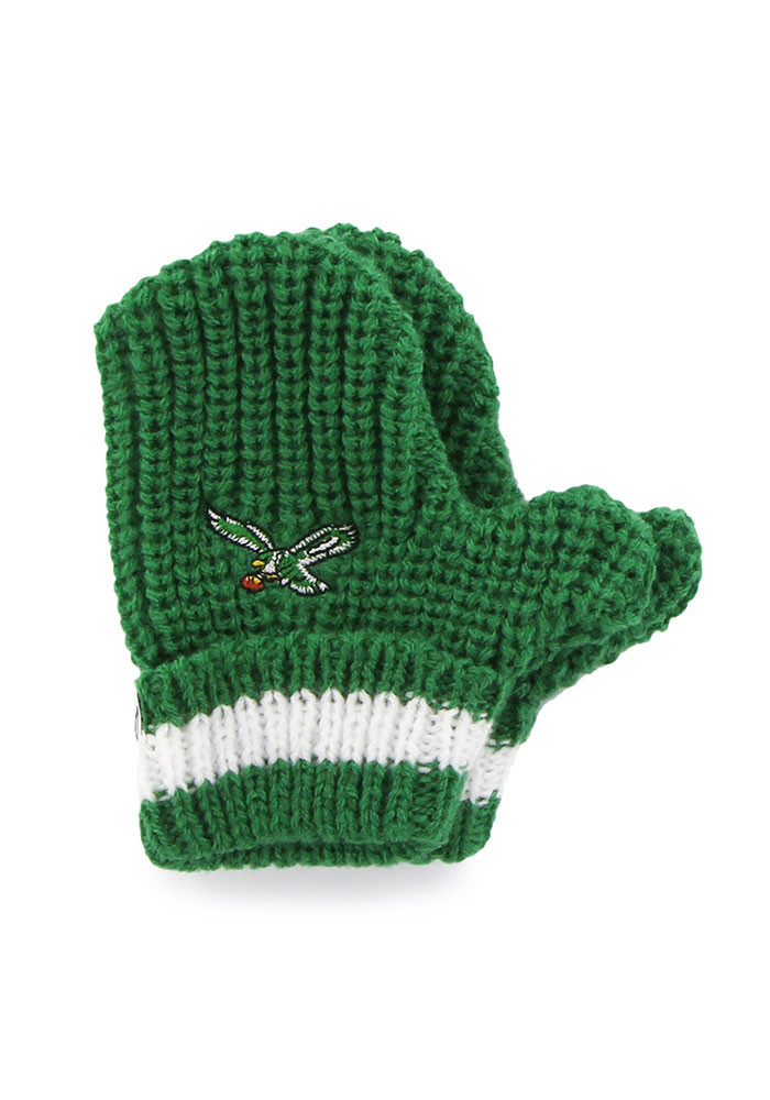 '47 Philadelphia Eagles Baby Rae Infant Baby Mittens - Image 1
