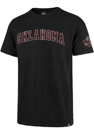 47 Oklahoma Sooners Black Two Peat Fashion Tee