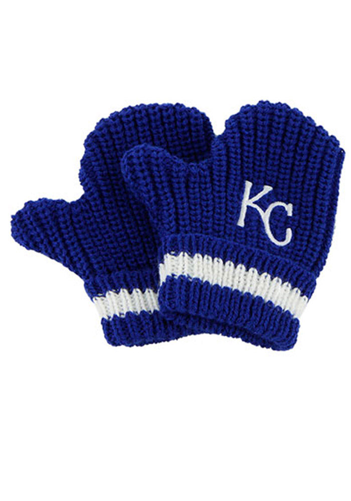 '47 Kansas City Royals Baby Rae Toddler Baby Mittens - Image 1