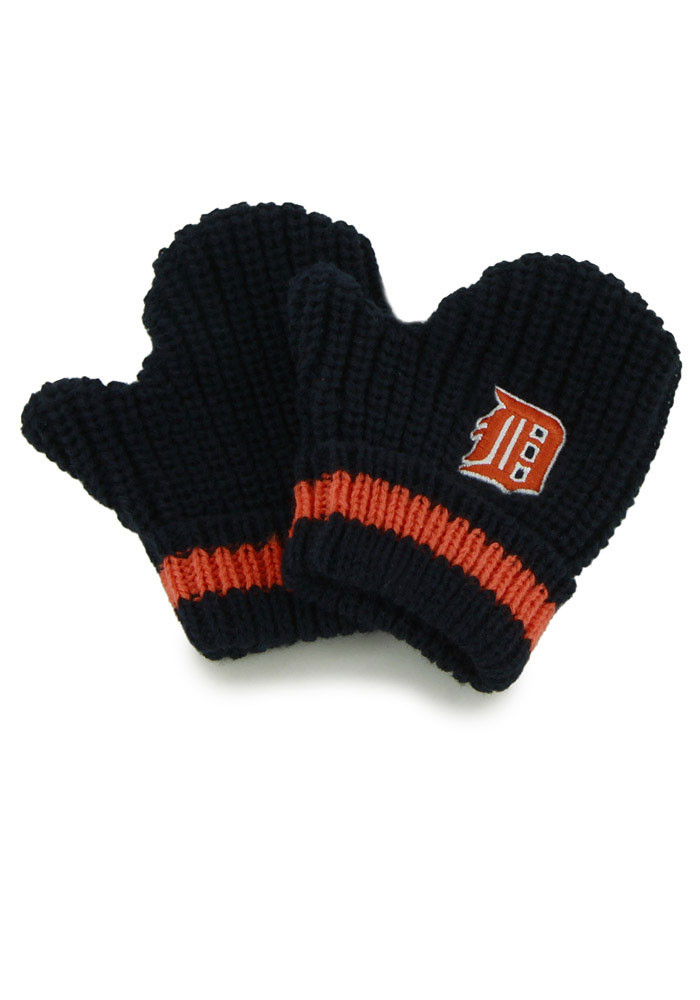 '47 Detroit Tigers Baby Rae Toddler Baby Mittens - Image 1