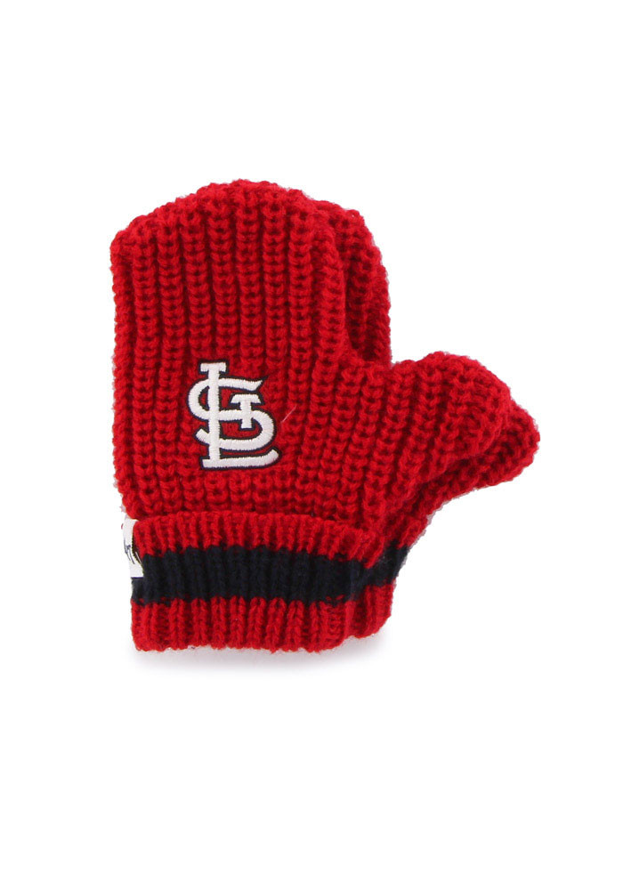 '47 St Louis Cardinals Baby Rae Toddler Baby Mittens - Image 1