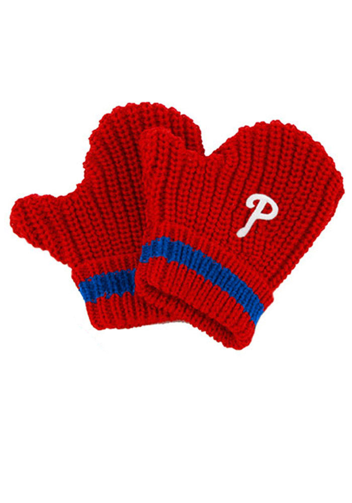 '47 Philadelphia Phillies Baby Rae Toddler Baby Mittens - Image 1