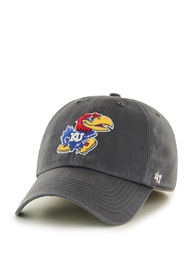 Kansas Jayhawks 47 `47 Franchise Fitted Hat - Charcoal