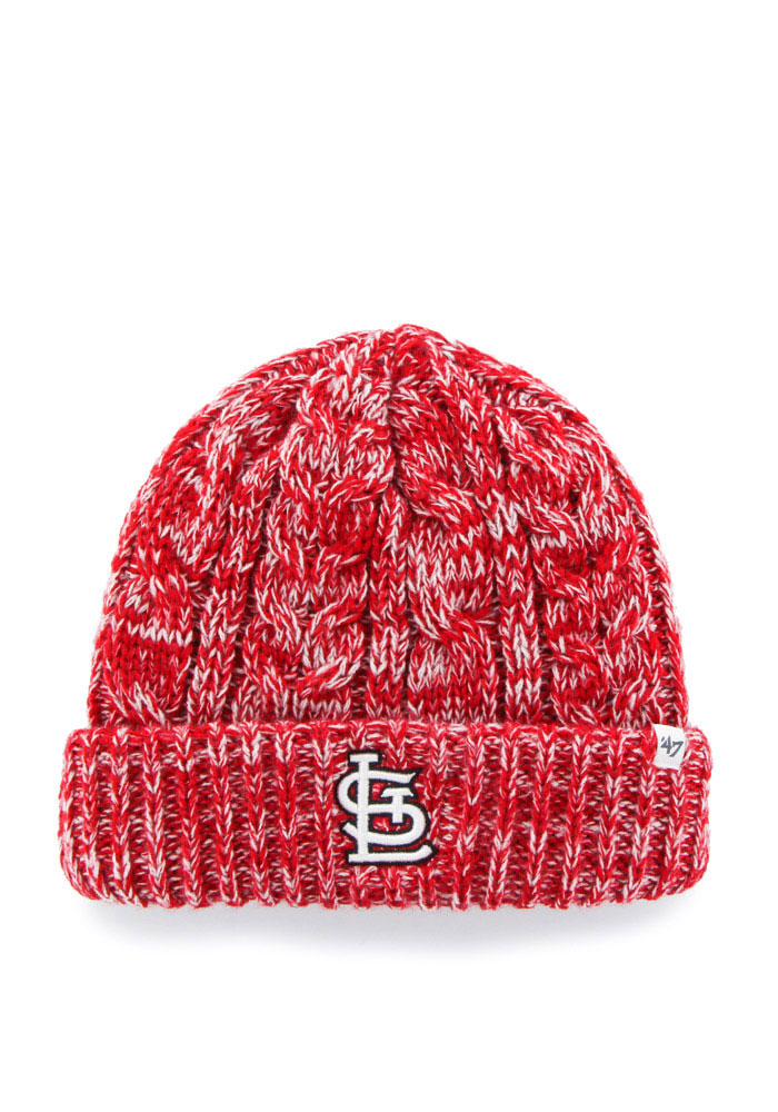 '47 St Louis Cardinals Red Prima Cuff Womens Knit Hat - Image 1