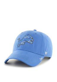 47 Detroit Lions Womens Blue Miata Clean Up Adjustable Hat