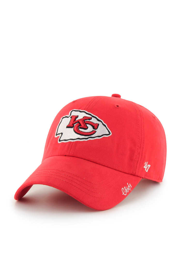 47 Kansas City Chiefs Womens Red Miata Clean Up Adjustable Hat 2b87b0e9e6a7