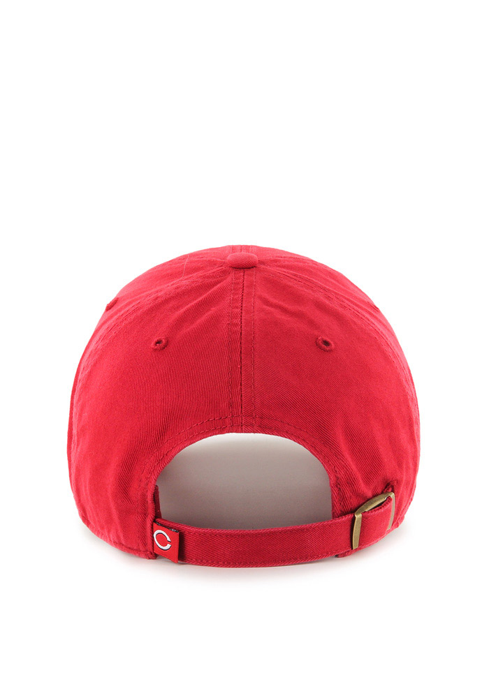 Cincinnati Reds Red Clean Up Youth Adjustable Hat - Image 2