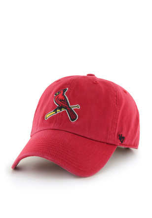 47 St Louis Cardinals Red Clean Up Youth Adjustable Hat f6c4f4dfa0d