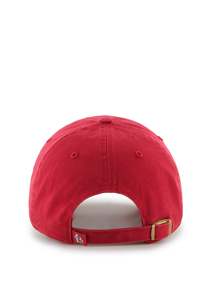 47 St Louis Cardinals Red Clean Up Youth Adjustable Hat - Image 2