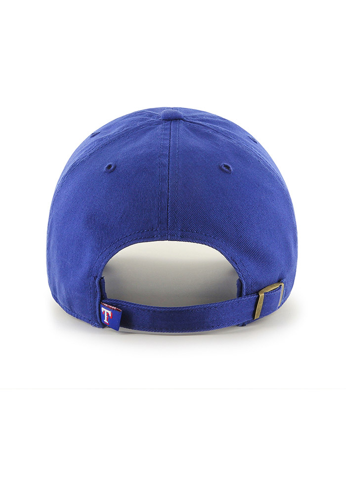 Texas Rangers Blue Clean Up Youth Adjustable Hat - Image 2