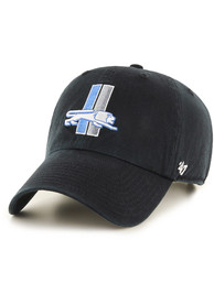 47 Detroit Lions Black Retro Clean Up Youth Adjustable Hat