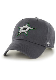 47 Dallas Stars Charcoal Clean Up Youth Adjustable Hat