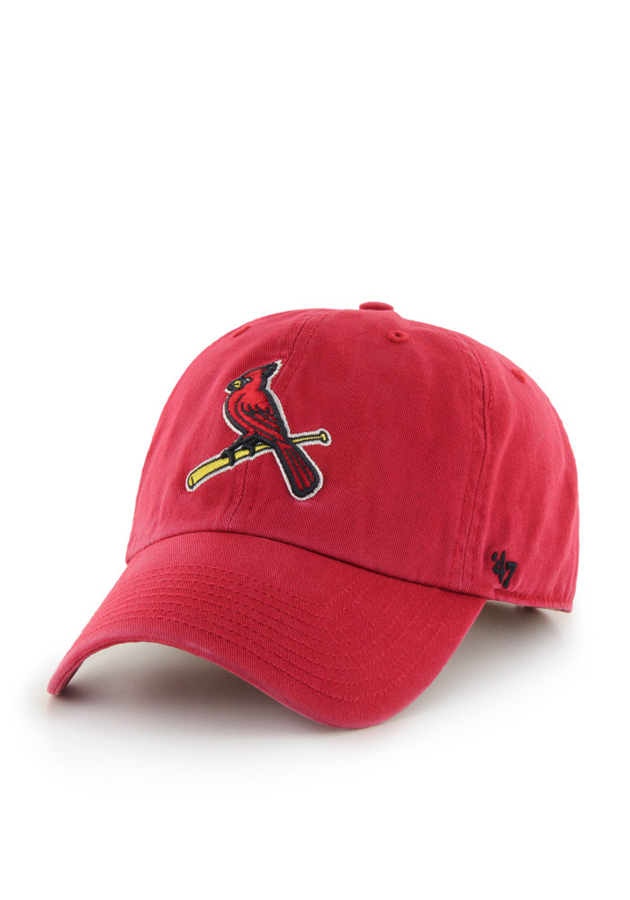 '47 St Louis Cardinals Red Clean Up Adjustable Toddler Hat - Image 1