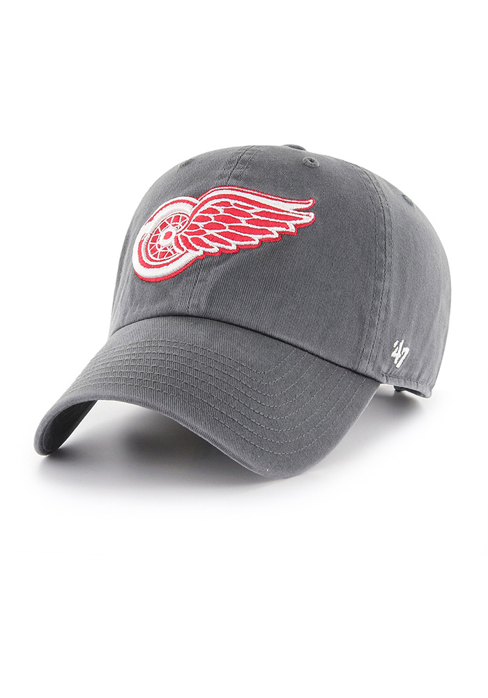 '47 Detroit Red Wings Grey Clean Up Adjustable Toddler Hat - Image 1