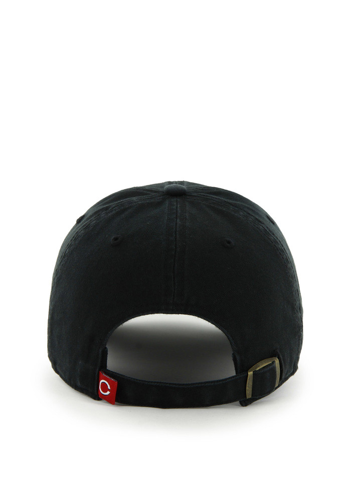 '47 Cincinnati Reds Baby Clean Up Adjustable Hat - Black - Image 2