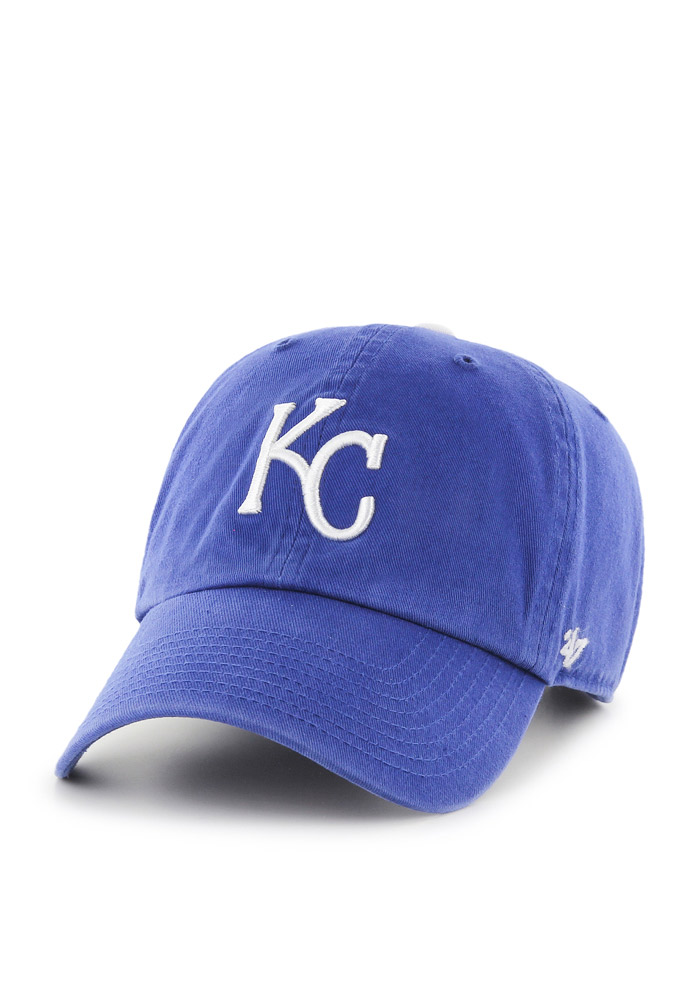 '47 Kansas City Royals Baby Clean Up Adjustable Hat - Blue - Image 1
