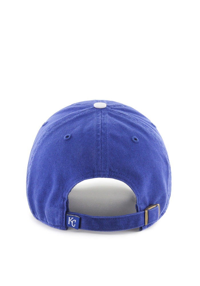 '47 Kansas City Royals Baby Clean Up Adjustable Hat - Blue - Image 2