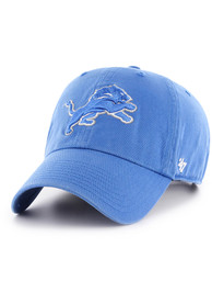 47 Detroit Lions Baby Clean Up Adjustable Hat - Blue