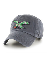 47 Philadelphia Eagles Baby Clean Up Adjustable Hat - Charcoal