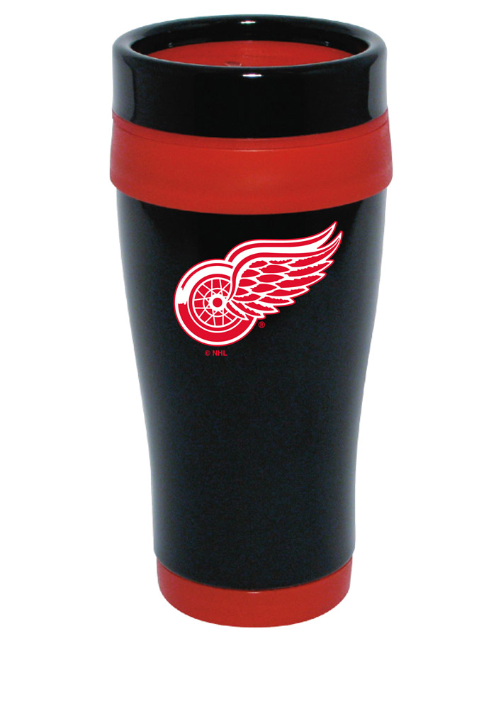 Detroit Red Wings Stainless Steel Travel Mug - Image 1