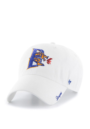 '47 Drexel Dragons Womens White Sparkle Clean Up Adjustable Hat