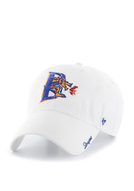 47 Drexel Dragons Womens White Sparkle Clean Up Adjustable Hat