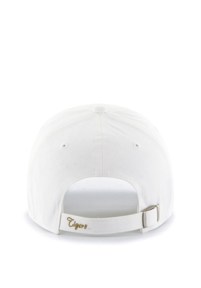 '47 Missouri Tigers White Sparkle Clean Up Womens Adjustable Hat - Image 2