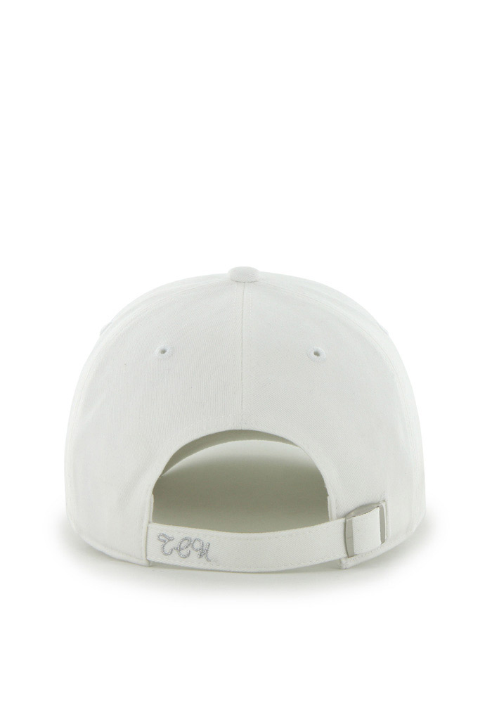 '47 TCU Horned Frogs White Sparkle Clean Up Womens Adjustable Hat - Image 2