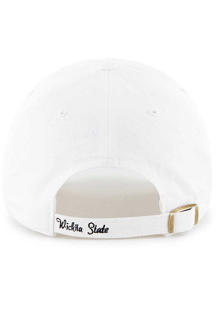 47 Wichita State Shockers White Sparkle Clean Up Womens Adjustable Hat - Image 2
