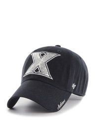 47 Xavier Musketeers Womens Navy Blue Sparkle Clean Up Adjustable Hat