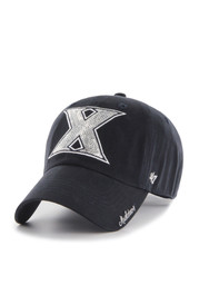 47 Xavier Musketeers Navy Blue Sparkle Clean Up Womens Adjustable Hat