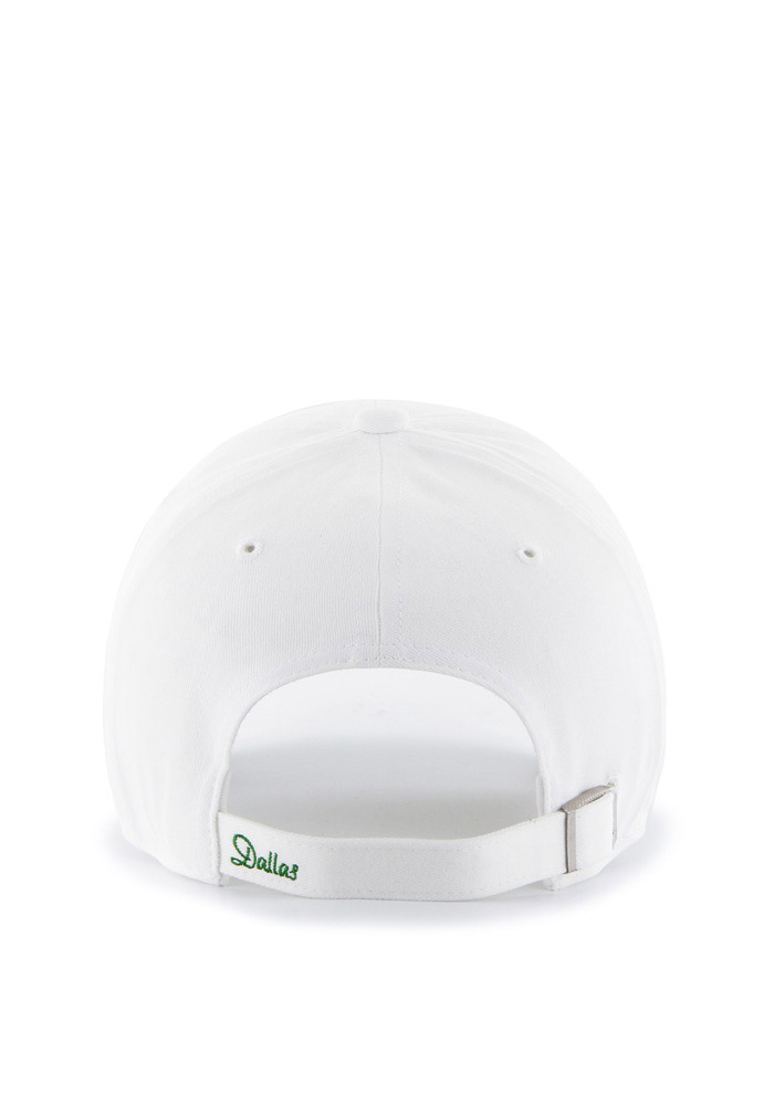 47 Dallas Stars White Sparkle Clean Up Womens Adjustable Hat - Image 2