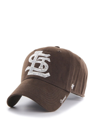 '47 St Louis Browns Brown Sparkle Clean Up Adjustable Hat