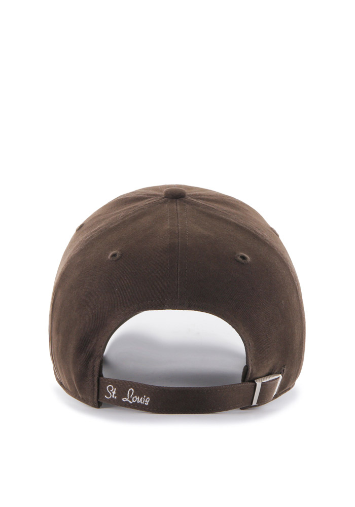 '47 St Louis Browns Brown Sparkle Clean Up Womens Adjustable Hat - Image 2