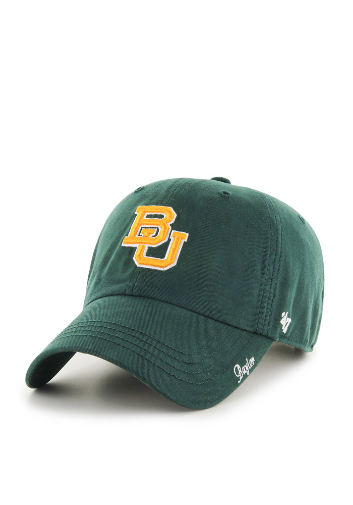 '47 Baylor Bears Green Miata Clean Up Womens Adjustable Hat - Image 1