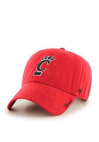 '47 Cincinnati Bearcats Womens Red Miata Clean Up Adjustable Hat