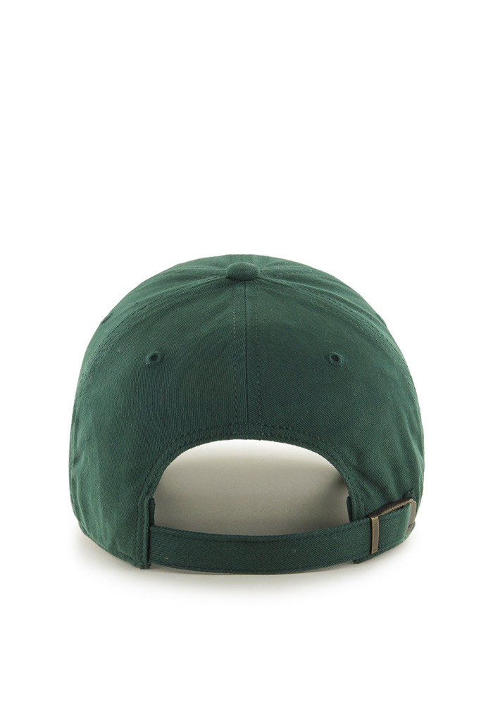 47 Michigan State Spartans Green Miata Clean Up Womens Adjustable Hat - Image 2