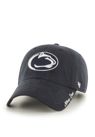 47 Penn State Nittany Lions Womens Navy Blue Miata Clean Up Adjustable Hat