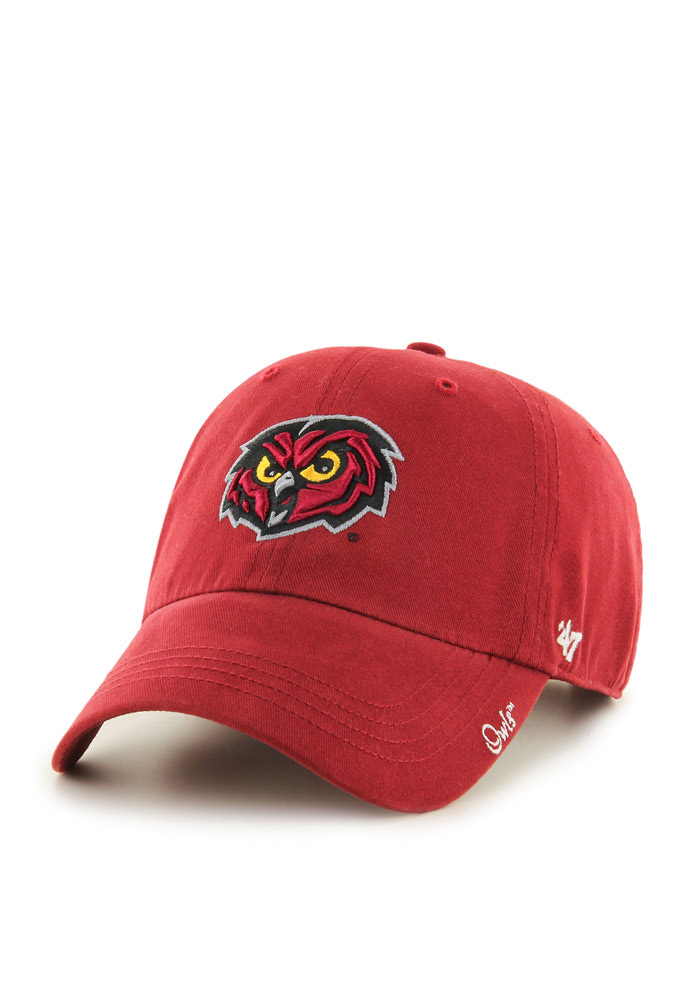 47 Temple Owls Red Miata Clean Up Womens Adjustable Hat - Image 1