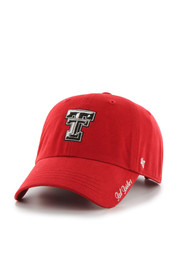 TTech Red Raiders red Miata Clean Up Adjustable Hat