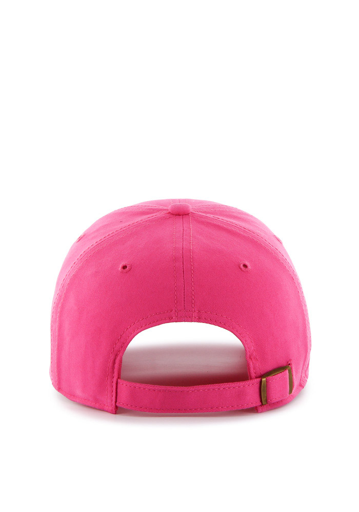 '47 Texas Tech Red Raiders Pink Miata Clean Up Womens Adjustable Hat - Image 2
