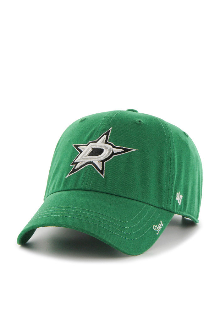 '47 Dallas Stars Green Miata Clean Up Womens Adjustable Hat - Image 1