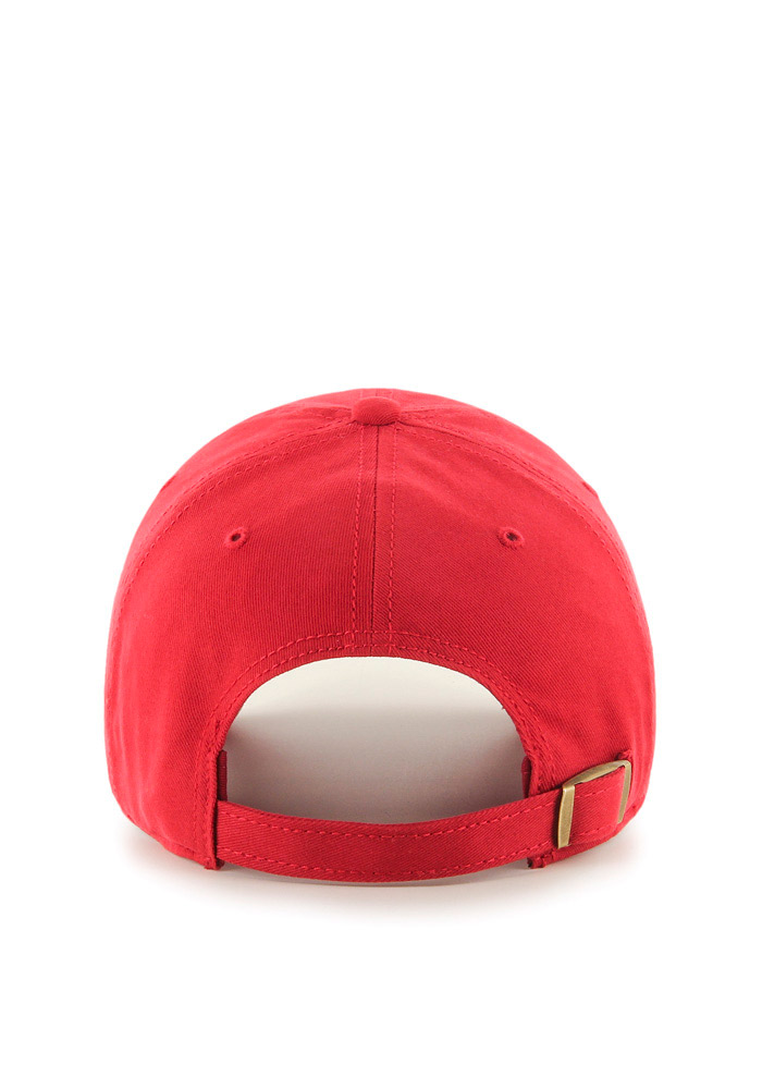 47 Detroit Red Wings Red Miata Clean Up Womens Adjustable Hat - Image 2
