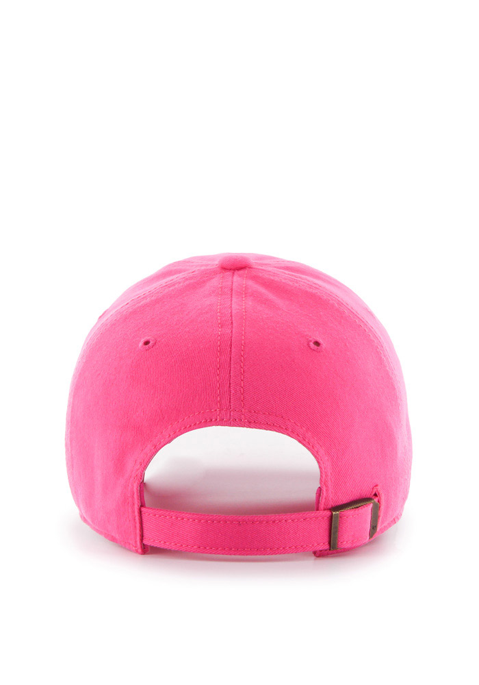 '47 Detroit Red Wings Pink Miata Clean Up Womens Adjustable Hat - Image 2