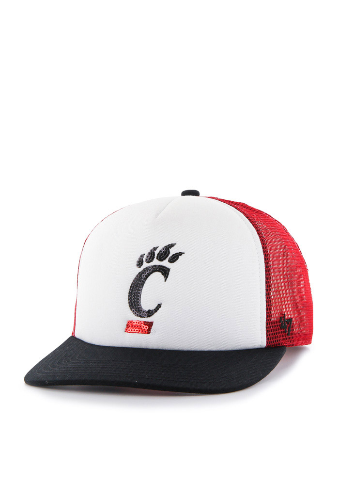 '47 Cincinnati Bearcats Red Glimmer Womens Adjustable Hat - Image 1