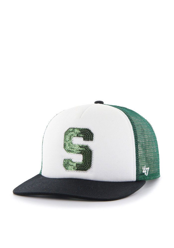 Michigan State Spartans Womens 47 Glimmer Adjustable - Green