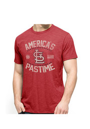 47 St Louis Cardinals Red Americas Pastime Fashion Tee